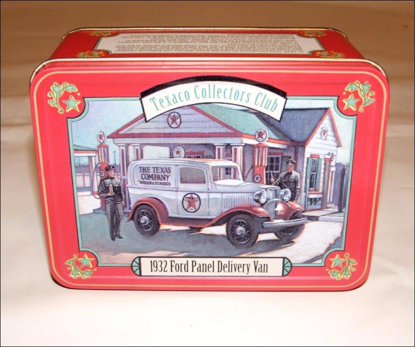 TEXACO COLLECTORS CLUB DIE CAST 1932 FORD PANEL DELIVERY VAN ~ ERLT F538 NEW