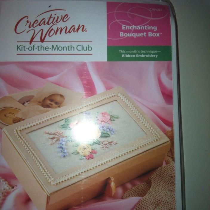 Creative Woman Kit of the Month Decorative Box Kit