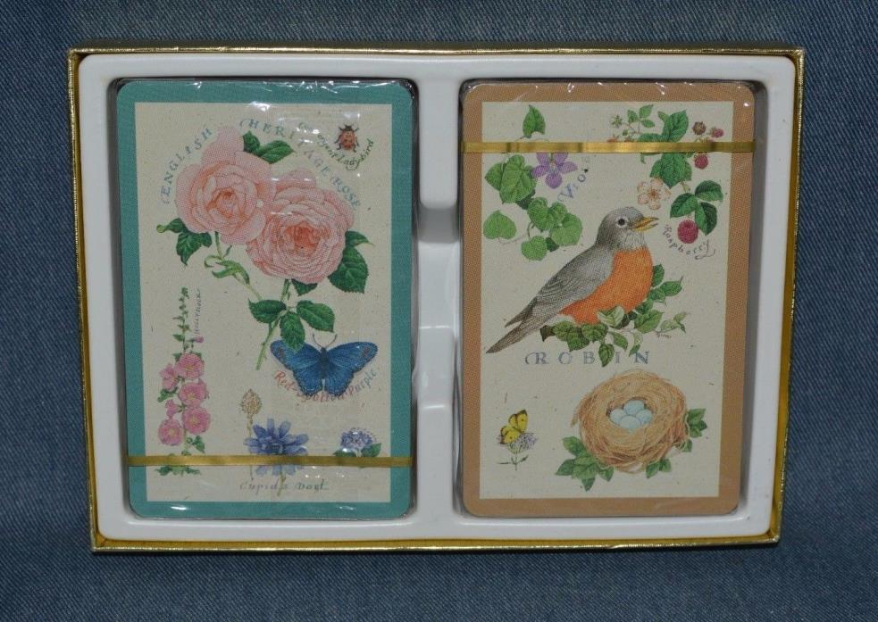 VINT. 2 DECKS CREATIVE PAPERS PLAYING CARDS