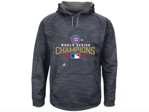 Majestic Chicago Cubs Champions Locker Room Hoodie Size XXL Sold Out Everywhere