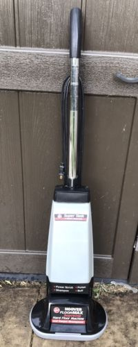 Hoover Floormax Supreme Machine Rug Floor Shampooer Polisher Scrubber NO BRUSHES