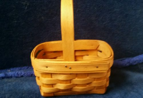1995 Longaberger Horizon of Hope Basket- American Cancer Society
