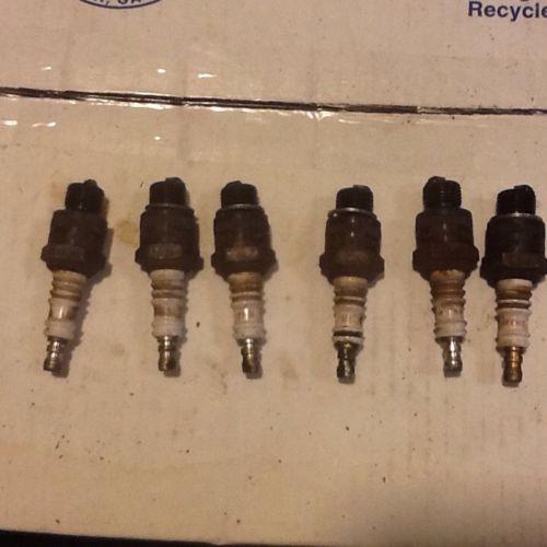 6 - Used Champion H-10 Spark plugs