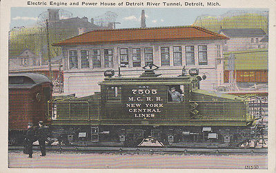 Electric Engine [Train], Detroit River Tunnel, DETROIT , Michigan , 00-10s