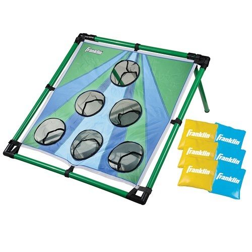 Bean Bag Toss Blue Green/Green Bags Easy Transport Family Kid Outdoor Games Fun