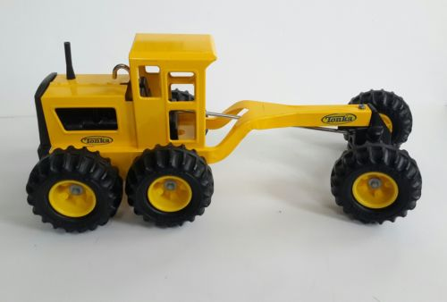 Tonka Truck Toughs - Road Grader Construction Truck Toy - For Parts
