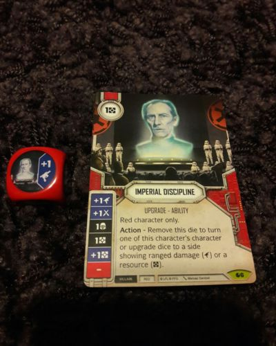 Star Wars Destiny Spirit of Rebellion Imperial Discipline