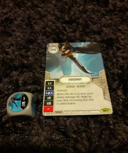 Star Wars Destiny Spirit of Rebellion Vibroknife