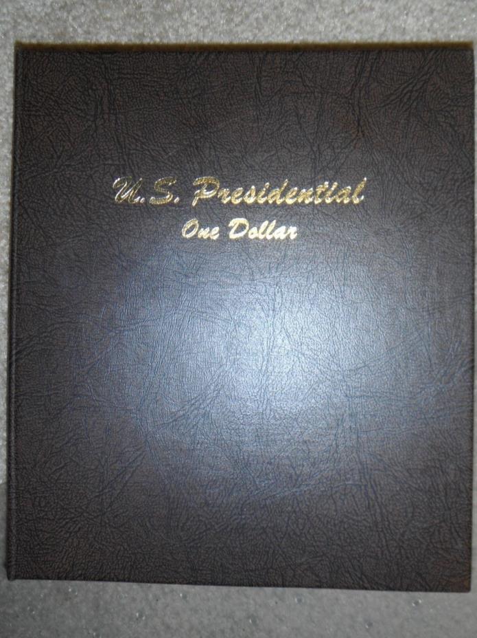DANSCO COIN ALBUM #7184 - Presidential Dollars (2007-) - P & D Mint Marks