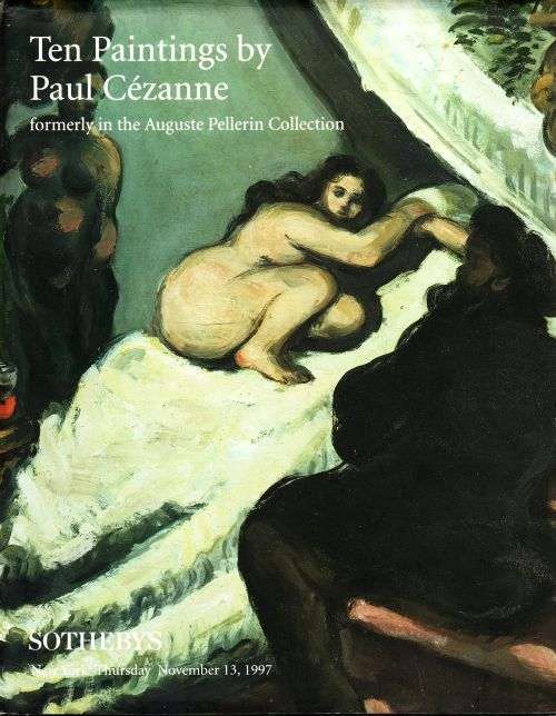 SOTHEBY'S 10 PAINTINGS BY PAUL CEZANNE ( HARDBACK )
