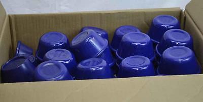 Lot of 60 Blue Ramekins 57 Carlisle Ramekins and 3 Gessner Ramekins Used