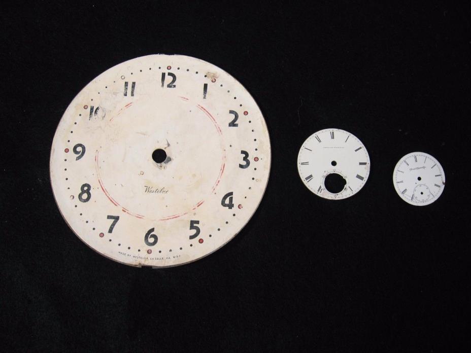 Vintage Clock & Watch Faces