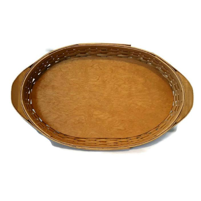 Longaberger 2006 Oval Serving Tray Basket