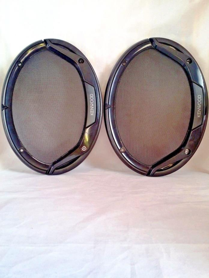 Kenwood  6x9 speakers  1pair GRILLS  ONLY