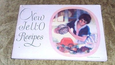 Vintage Jell-o Recipes Booklet