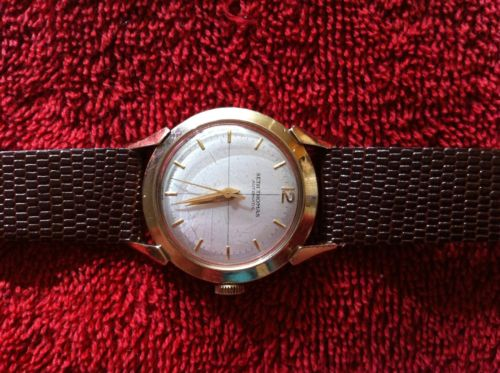 1 MEN'S WATCH SETH THOMAS(AUTOMATIC, 17JEWEL, SWISS, 10K GOLD FILLED, WORKS)