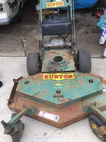 bunton Walk Behind Mower