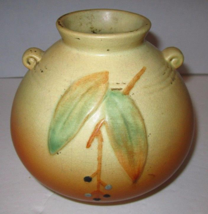 Old Weller Pottery Vase for Repair