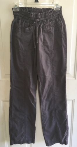 KOI Scrub PANTS sz XS Tall Gray Brown Karlie Ladies Womens Medical Scrubs