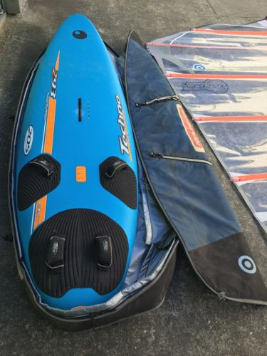 BIC TECHNO 293 Complete Windsurfing Board Diablo Sail & Equipment LAST CALL !!!