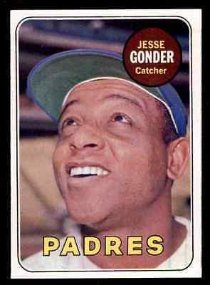 1969 Topps Exmt Jesse Gonder #617