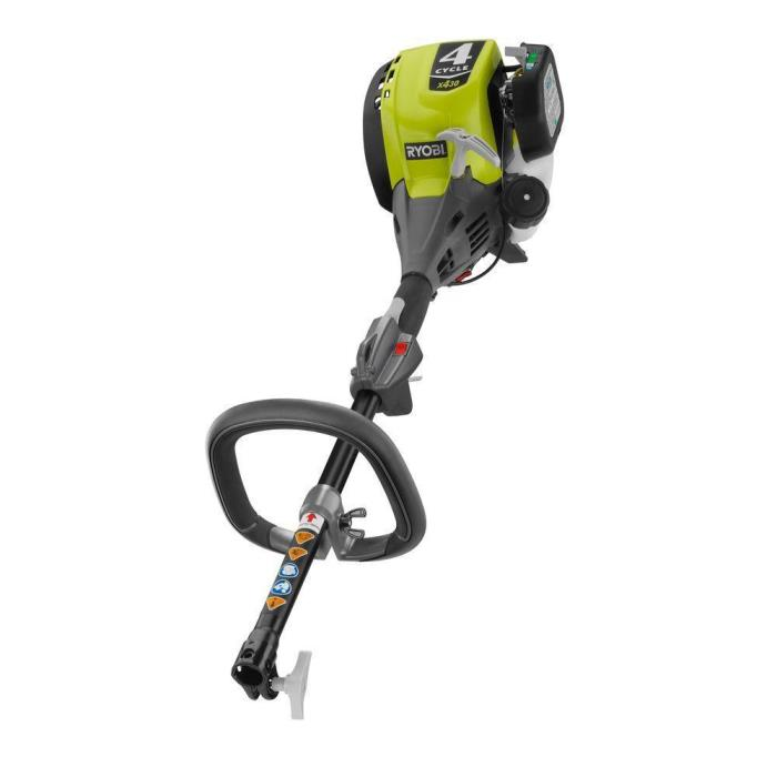 Ryobi Expand-it 25 cc 2-Cycle Full Crank Gas Trimmer Power Head Attachment Tool