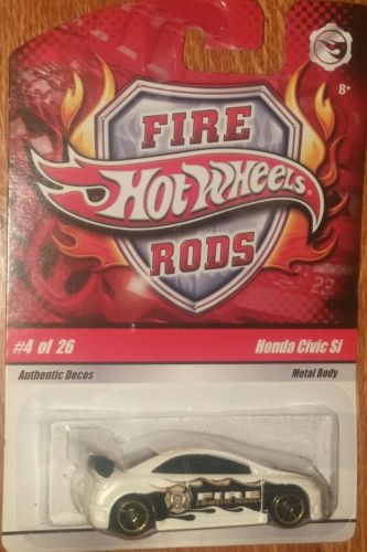 HW HOT-WHEELS FIRE RODS HONDA CIVIC SI 2008