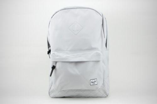 Herschel Heritage 21.5L 10007-01238 Lunar Rock Quilted Canvas Laptop Backpack