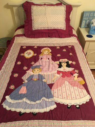 Kids Comforter, Quilt & Pillow Sham Embroidered Dolls By Arley