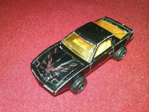Majorette #293 Pontiac Trans AM Black With Yellow Interior France