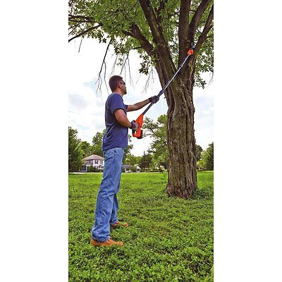 Pole Saw Trimmer Pruner Cordless 20V Lithium Ion battery Lightweight 14' Span