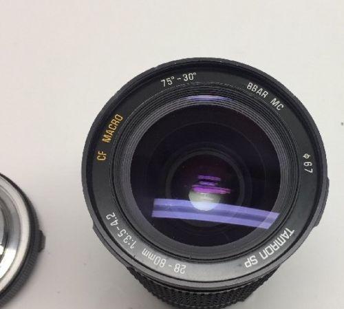 Tamron SP 28-80mm 1:3.5-4.2 CF Macro 75º-30º BBAR MC ø67 Lens §