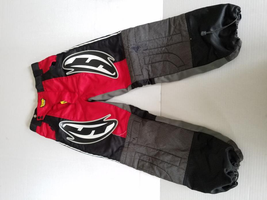 JT Paintball Pants - Kids 28 - Polyester - Red/Black/White - SEE DETAILS