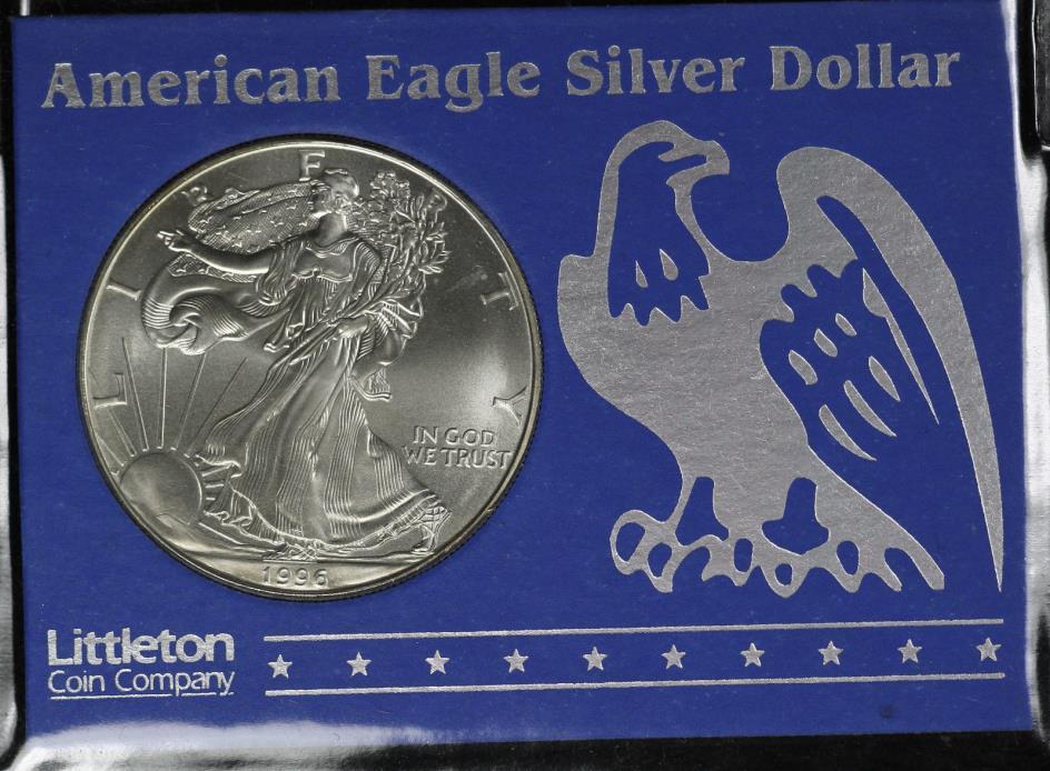 1996 American Silver Eagle - Littleton Coin