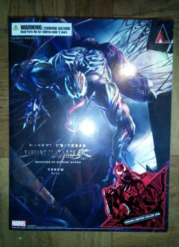 Marvel Universe Variant Play Arts Kai Figure Venom Limited Color Ver.