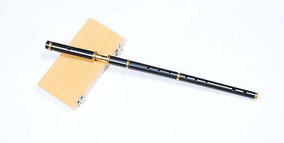 NEW STYLE PROFESSIONALS IRISH D FLUTE AFRICAN BLACK WOOD HARD CASE 4PIECE