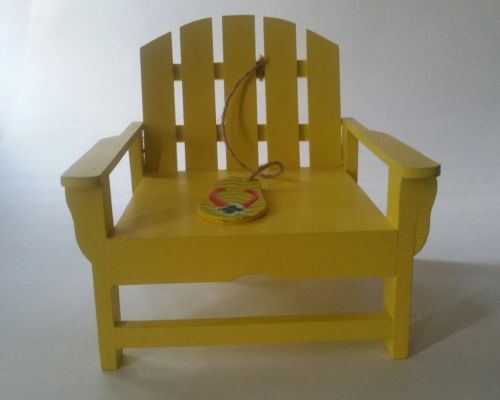 Adirondack decorative doll beach chair