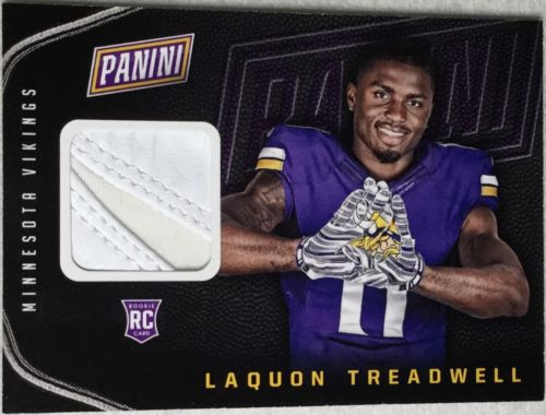 Laquon Treadwell 2016 Panini National Silver Pack #17 Glove Rookie RC Vikings