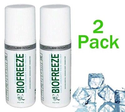 Biofreeze roll on 2 pack (2.5 oz roll on)