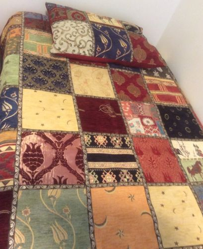 Turkish Handmade Embroidered Quilt And Pillow Case