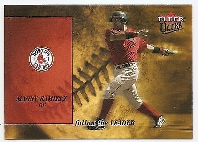 2005 ULTRA FOLLOW THE LEADER Manny Ramirez #4FL