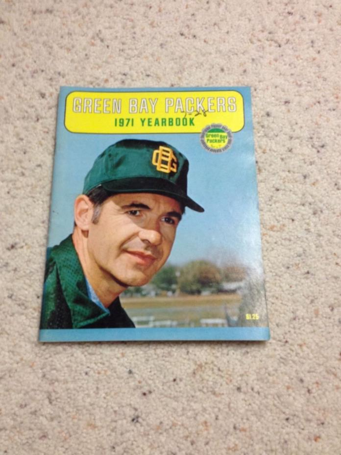 Green Bay Packers 1971 Yearbook