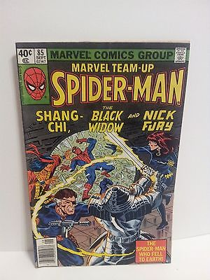 Marvel Team-Up #85 (Sep 1979), VF/NM, Nick Fury, Black Widow, Spider Man *