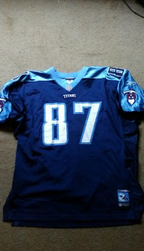 AUTHENTIC MEN'S TENNESSEE TITANS #87 UMS JERSEY NFL SIZE 56