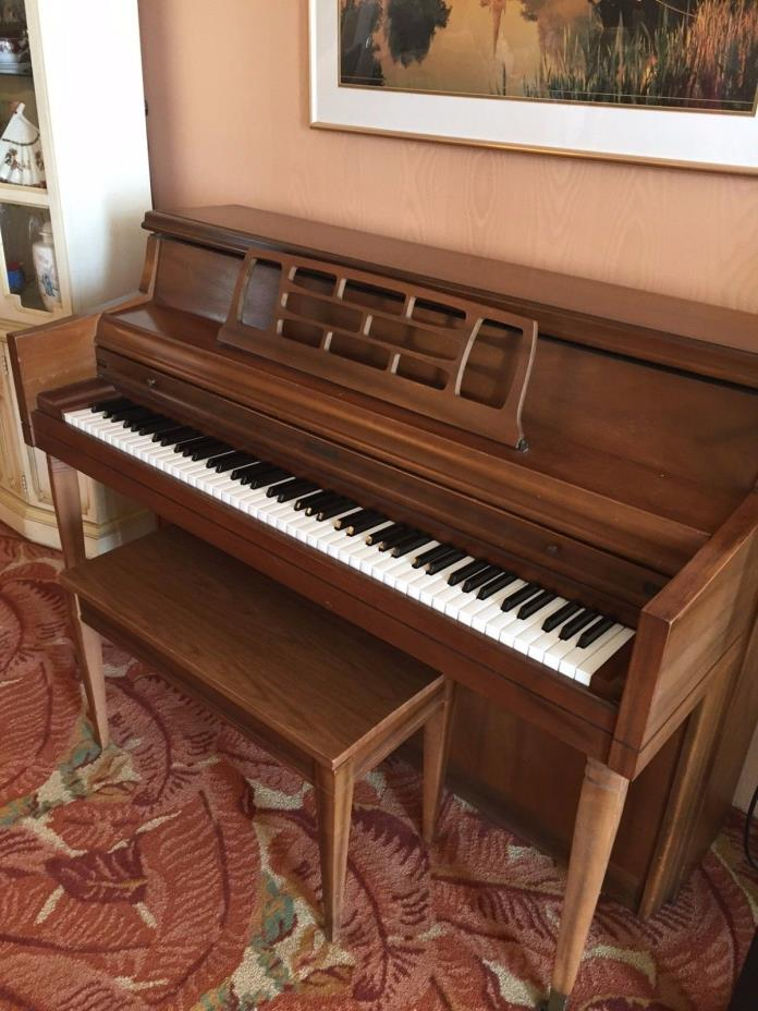 Kimball Artist Console Piano & Bench