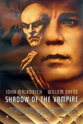 Shadow of the Vampire Original S/S Rolled Movie Poster 27x40 John Malkovich
