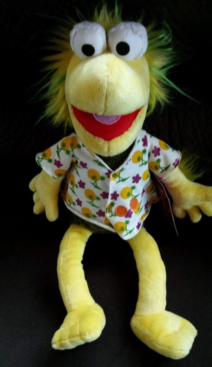 New Fraggle Rock Wembley Plush Doll Jim Henson Muppets Manhattan Toy