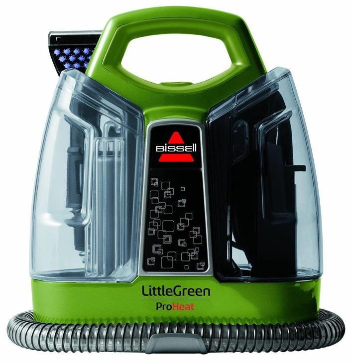 how to clean little green machine