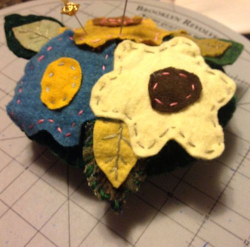 Felted Lavender Scented Pin Cushion