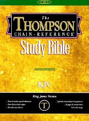 Thompson Chain-Reference Bible-KJV-Handy Size by Bonded Leather Book (English)